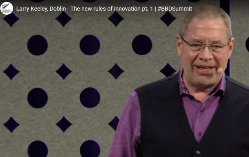 Watch: Larry Keeley on The New Rules of Innovation
