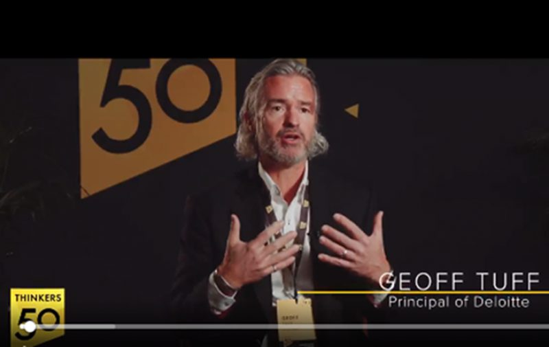 On Thinkers50 Meet a Thinker: Geoff Tuff