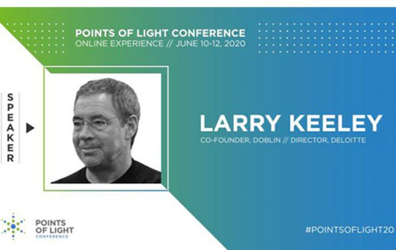 Event: Join Larry Keeley At 2020 Points of Light Conference Online Experience